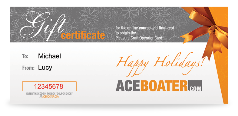 Give a boating license this Christmas