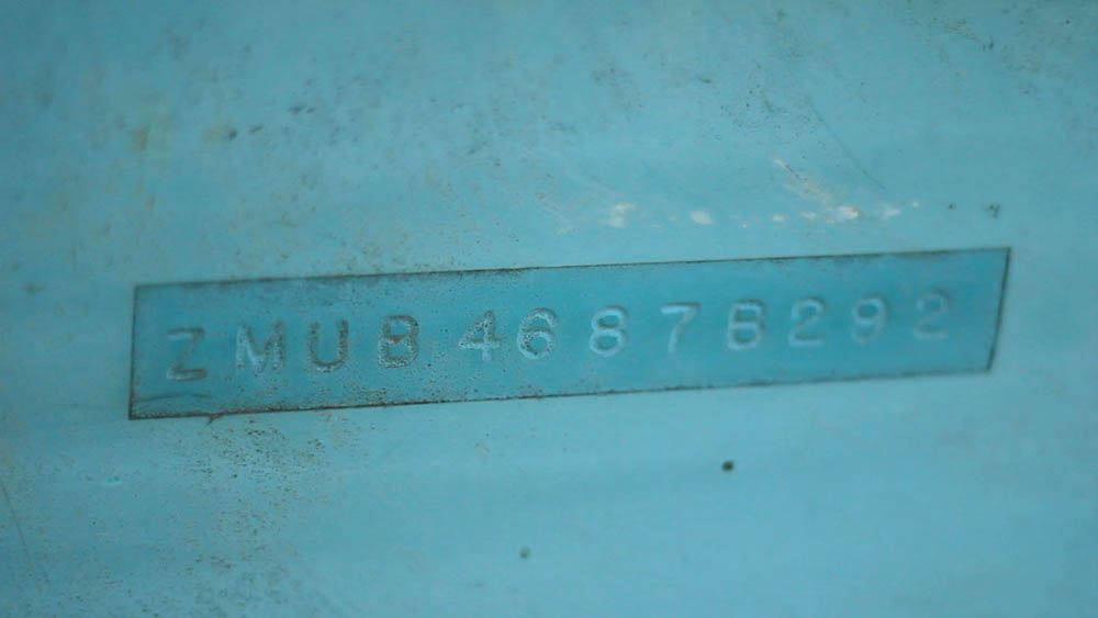 Hull Serial Number (HIN)