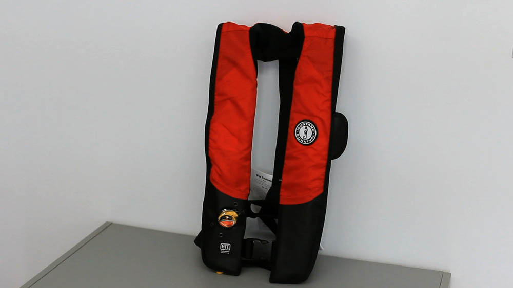 Inflatable personal flotation device (PFD)