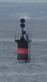 Isolated danger buoy