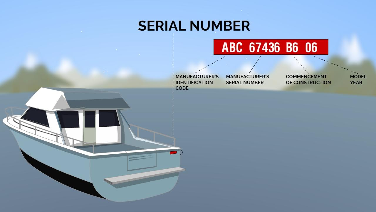 boat identification by serial number