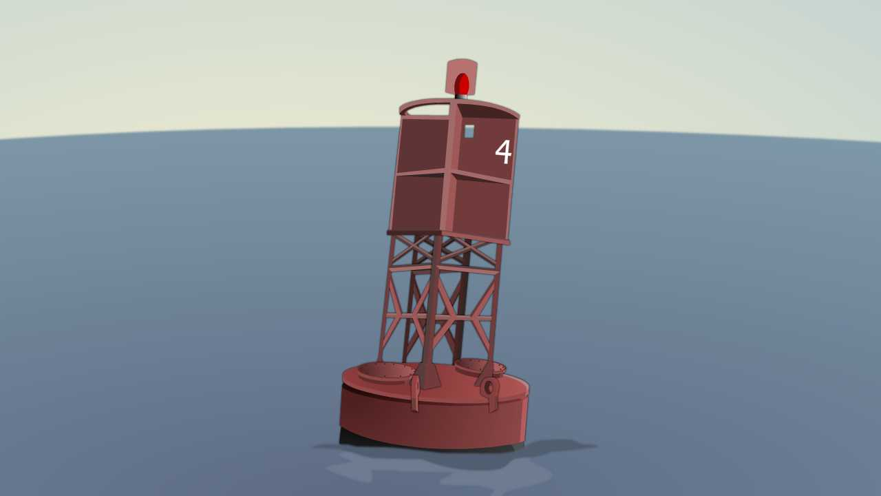 Starboard buoy