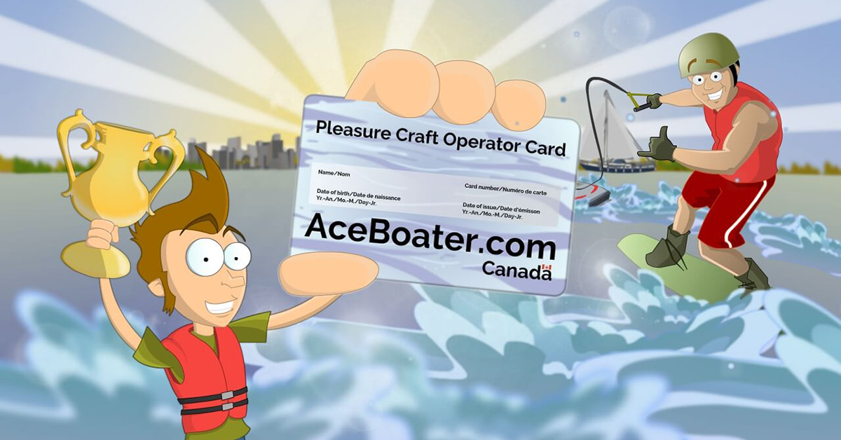 Canadian Power And Sail Squadrons Pleasure Craft Operator Card