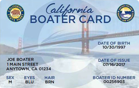 Boating License California